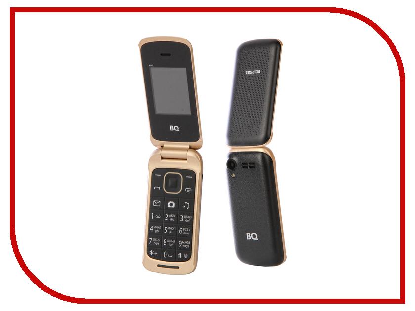 Сотовый телефон BQ 1810 Pixel Black мобильный телефон bq mobile 1810 pixel red