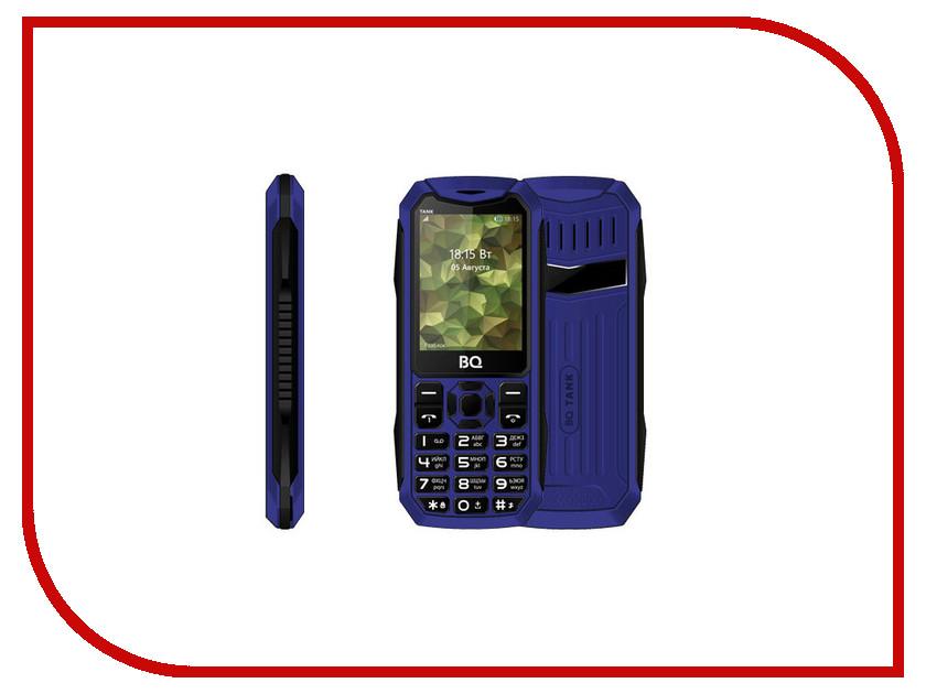 Сотовый телефон BQ 2428 Tank Blue мобильный телефон bq mobile bq 2428 tank blue