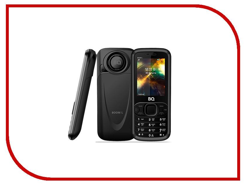 Сотовый телефон BQ 2427 Boom L Black мобильный телефон bq mobile bq 2427 boom l silver
