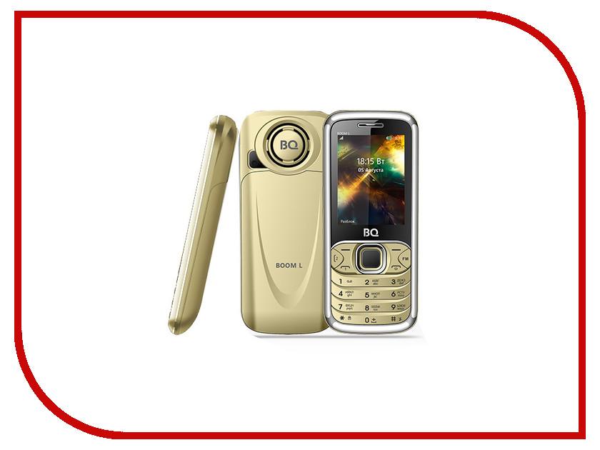 Сотовый телефон BQ 2427 Boom L Gold мобильный телефон bq mobile bq 2427 boom l silver