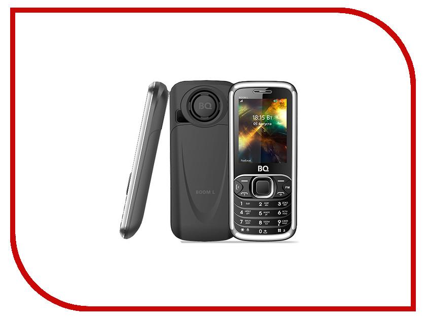 Сотовый телефон BQ 2427 Boom L Gray мобильный телефон bq mobile bq 2427 boom l silver