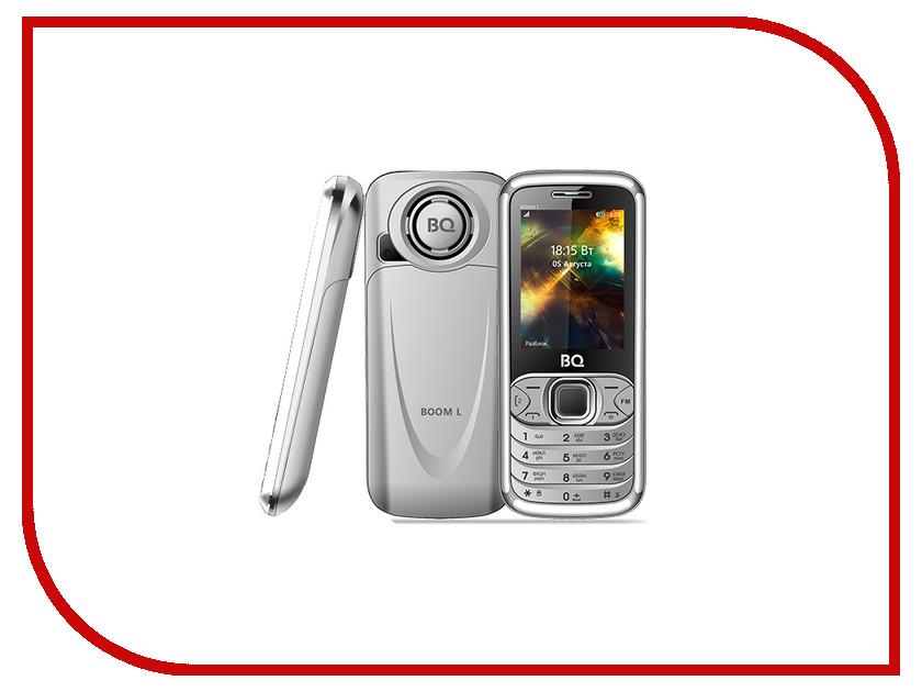 Сотовый телефон BQ 2427 Boom L Silver мобильный телефон bq mobile bq 2427 boom l silver