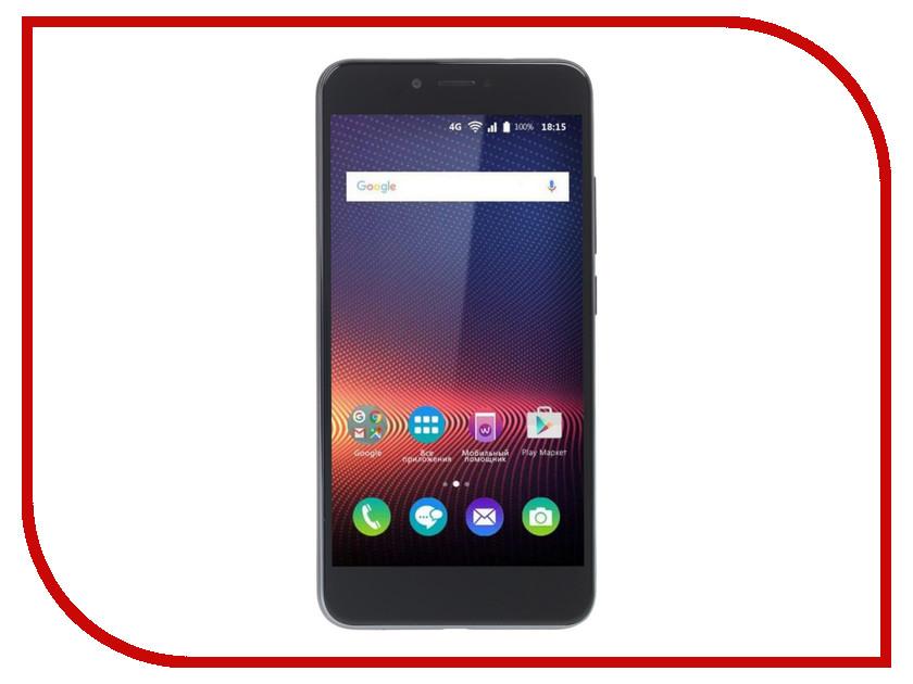 Сотовый телефон BQ BQ-5504 Strike Selfie Max Dark Grey смартфон bq mobile bq 5059 strike power grey matt