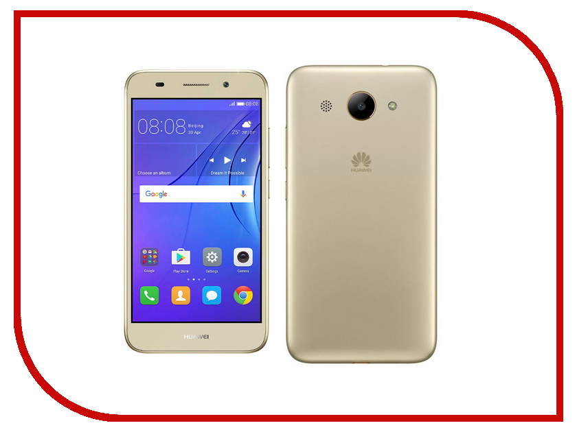 Сотовый телефон Huawei Y3 2017 Gold s1700 16g huawei