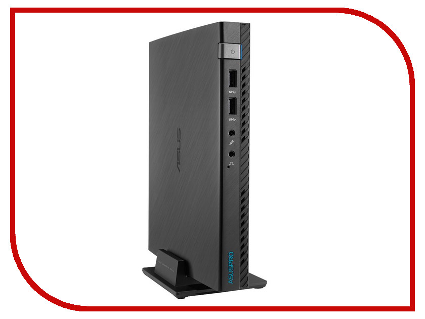 Настольный компьютер ASUS Mini PC E510-B265A 90PX0081-M06970 (Intel Pentium G3250T 2.8 GHz/4096Mb/500Gb/No ODD/Intel HD Graphics/Wi-Fi/DOS)