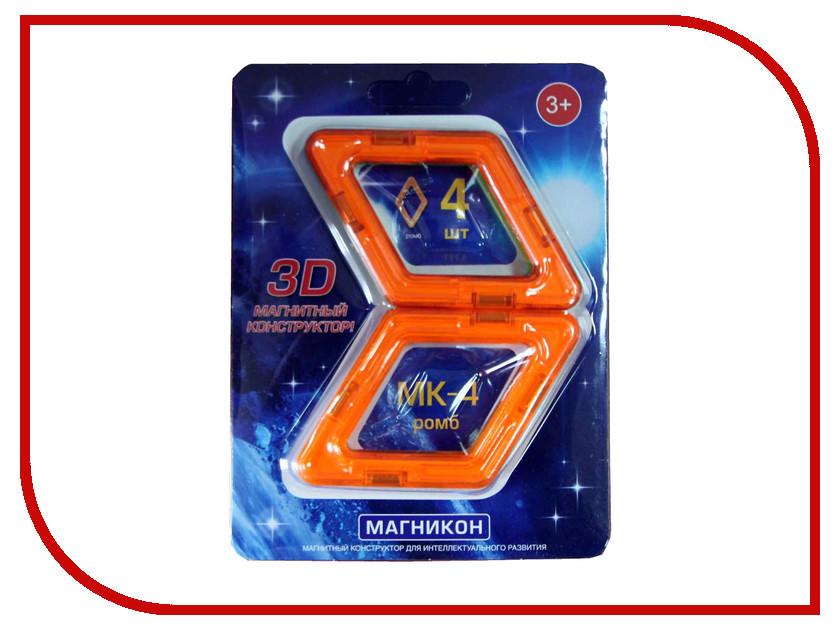 Конструктор Магникон МК-4-РБ магникон детский конструктор магникон мк 62