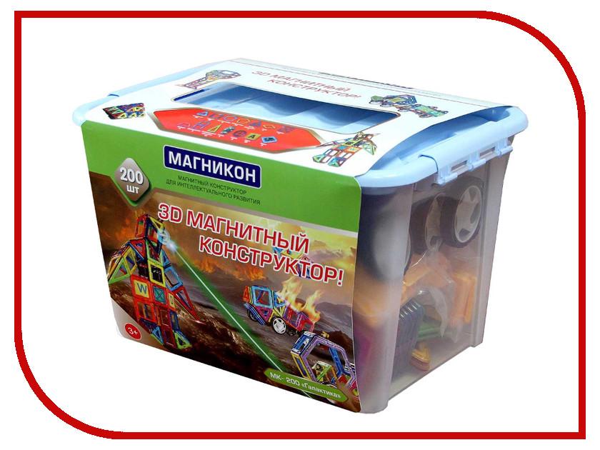 Конструктор Магникон МК-200 магникон детский конструктор магникон мк 62
