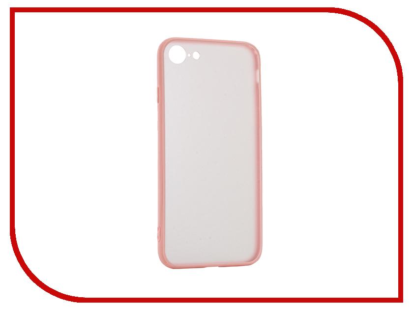 Аксессуар Чехол BROSCO Silicone для APPLE iPhone 7 Pink Matte IP7-TPU-BMP-ROSE ip6 tpu bmp black