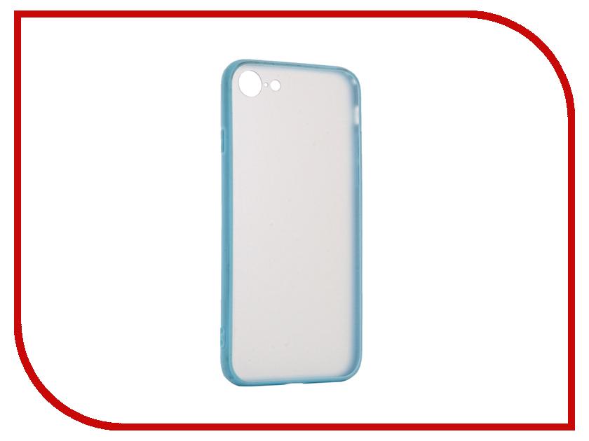 Аксессуар Чехол BROSCO Silicone для APPLE iPhone 7 Light Blue Matte IP7-TPU-BMP-BLUE ip6 tpu bmp black