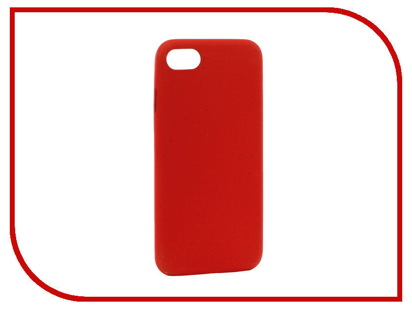 Аксессуар Чехол BROSCO Termo для APPLE iPhone 7 Red-Yellow IP7-TERMO-RED&YELLOW аксессуар чехол brosco soft rubber для apple iphone 7 red ip7 softrubber red