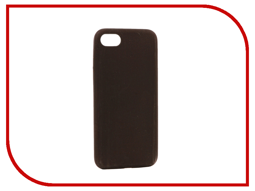 Аксессуар Чехол BROSCO Termo для APPLE iPhone 7 Black-Red IP7-TERMO-BLACK&RED аксессуар чехол brosco soft rubber для apple iphone 7 red ip7 softrubber red