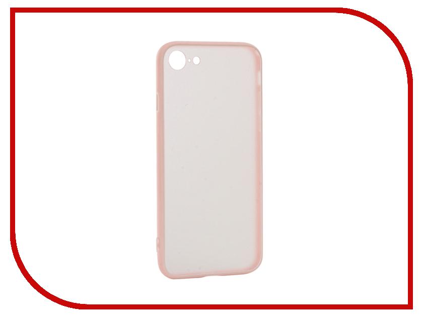 Аксессуар Чехол BROSCO Silicone для APPLE iPhone 6 Pink IP6-TPU-BMP-ROSE ip6 tpu bmp black