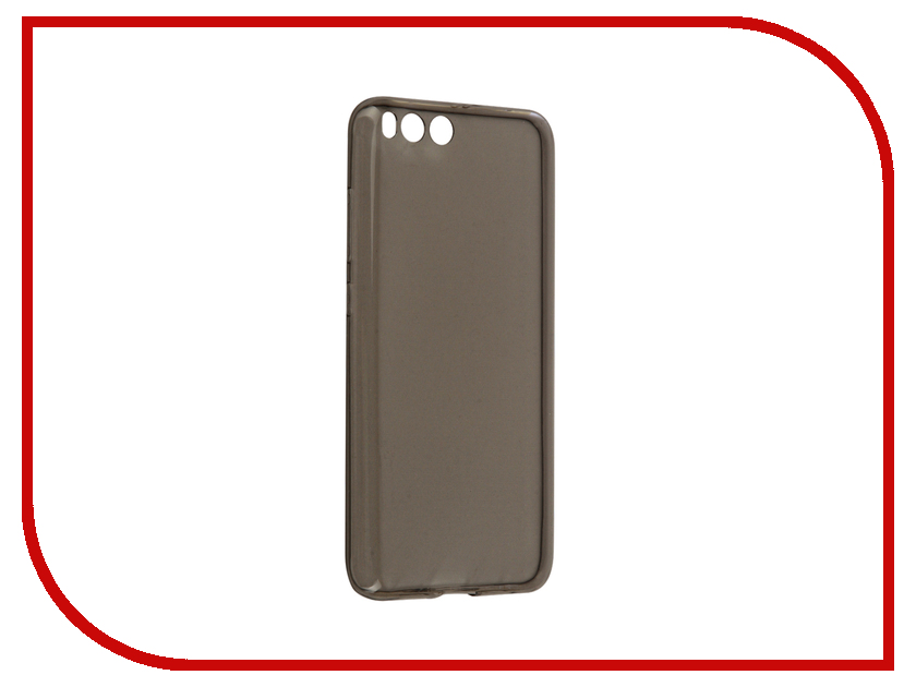 Аксессуар Чехол Xiaomi Mi6 BROSCO Silicone Black XM-MI6-TPU-BLACK
