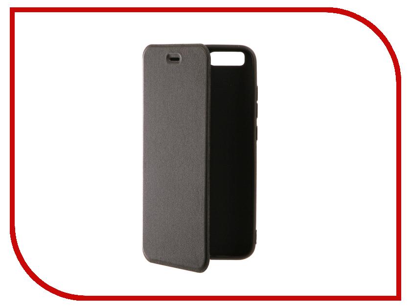 Аксессуар Чехол Xiaomi Mi6 BROSCO Black XM-MI6-BOOK-BLACK аксессуар чехол htc u ultra brosco black htc uu book black