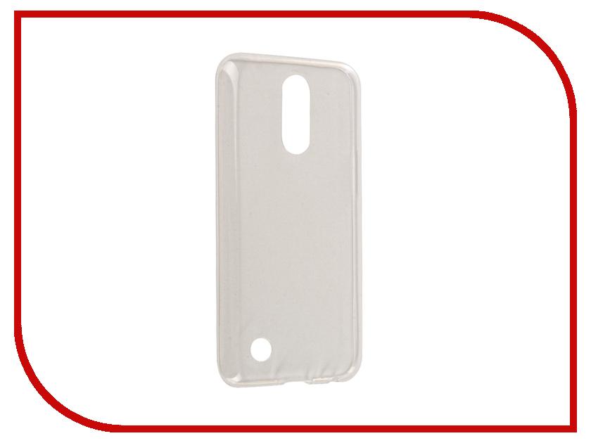 все цены на  Аксессуар Чехол LG K10 2017 BROSCO Silicone Transparent LG-K10(7)-TPU-TRANSPARENT  онлайн