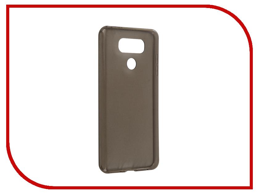 Аксессуар Чехол LG G6 BROSCO Silicone Black LG-G6-TPU-BLACK<br>