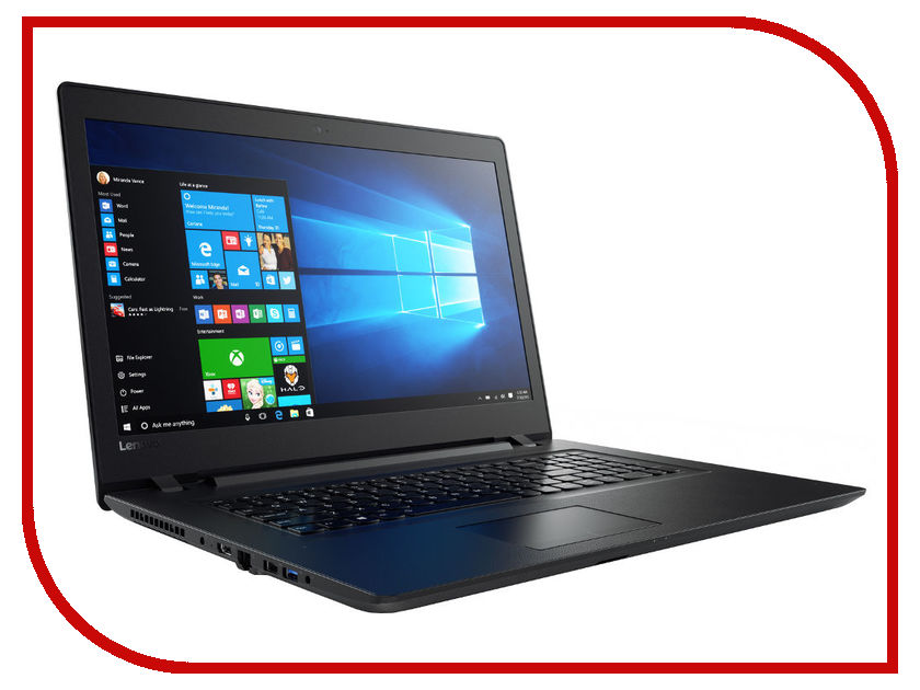 Ноутбук Lenovo V110-17IKB 80V2005HRK (Intel Core i5-7200U 2.5 GHz/4096Mb/1000Gb/DVD-RW/AMD Radeon R5 M430 2048Mb/Wi-Fi/Cam/17.3/1600x900/Windows 10 64-bit) ноутбук lenovo 320 17ikb 80xm000wrk intel core i5 7200u 2 5 ghz 8192mb 1000gb dvd rw nvidia geforce 920mx 2048mb wi fi cam 17 3 1600x900 windows 10 64 bit