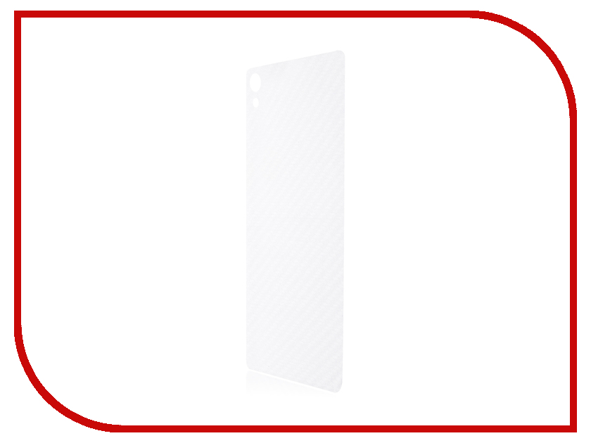 Аксессуар Защитная пленка Sony Xperia XA1 Ultra BROSCO Carbon Back XA1U-SP-BACK-CARBON смартфон sony xperia xa1 ultra dual