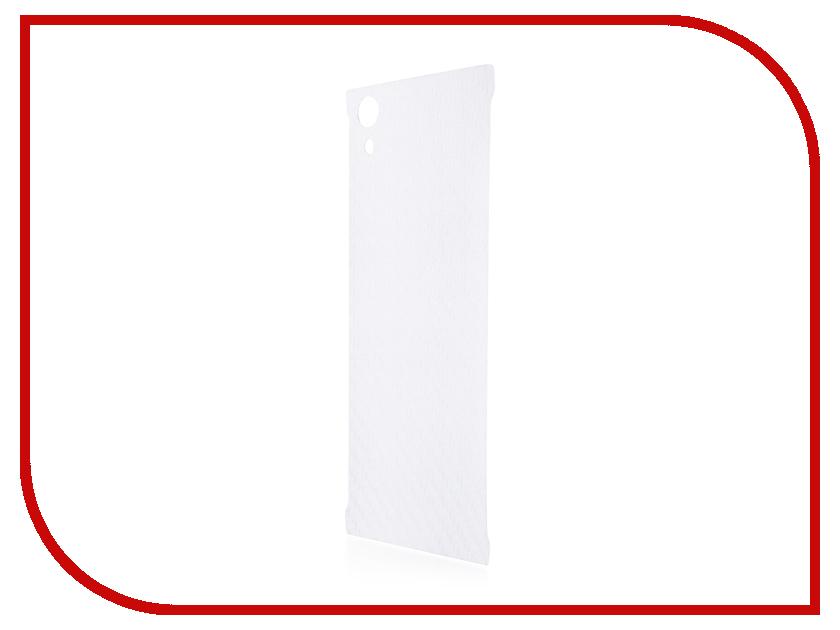 Аксессуар Защитная пленка Sony Xperia XA1 BROSCO Carbon Back XA1-SP-BACK-CARBON
