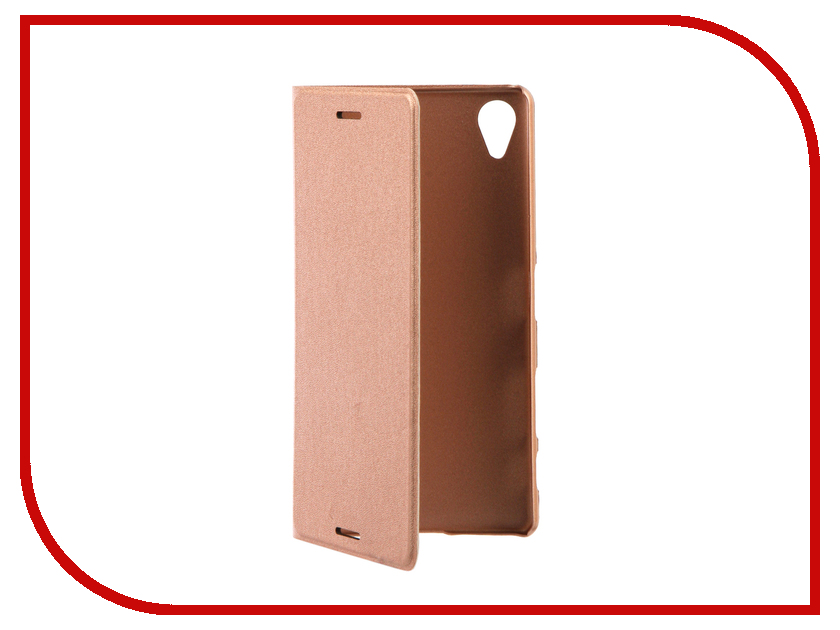 Аксессуар Чехол Sony Xperia X Performance BROSCO PU Rose Gold XP-BOOK-ROSEGOLD аксессуар чехол htc u ultra brosco black htc uu book black