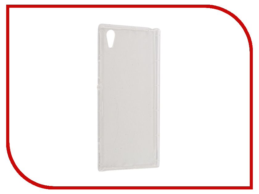 Аксессуар Чехол Sony Xperia XA1 Ultra BROSCO Silicone Transparent XA1U-HARD-TPU-TRANSPARENT аксессуар чехол htc u ultra brosco silicone transparent htc uu tpu transparent
