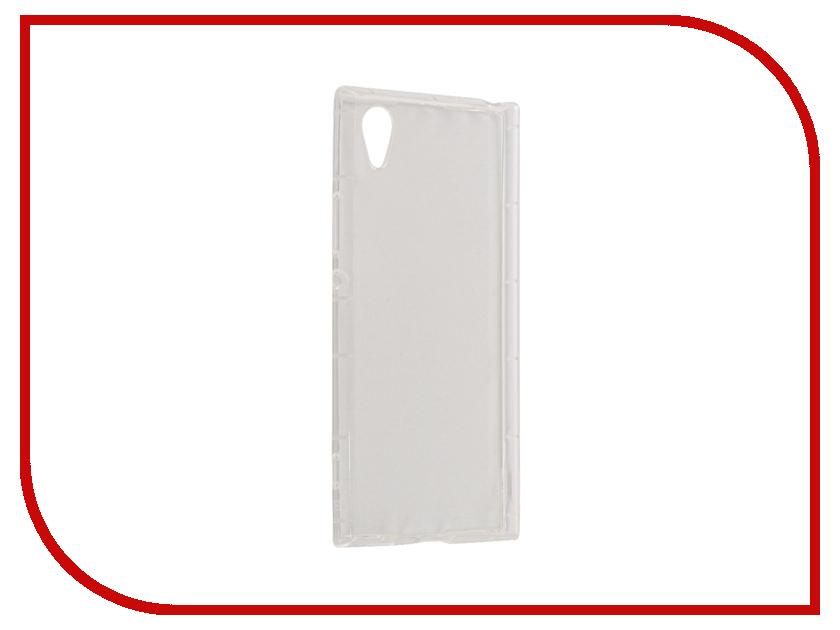 Аксессуар Чехол Sony Xperia XA1 BROSCO Silicone Transparent XA1-HARD-TPU-TRANSPARENT 1 transparent