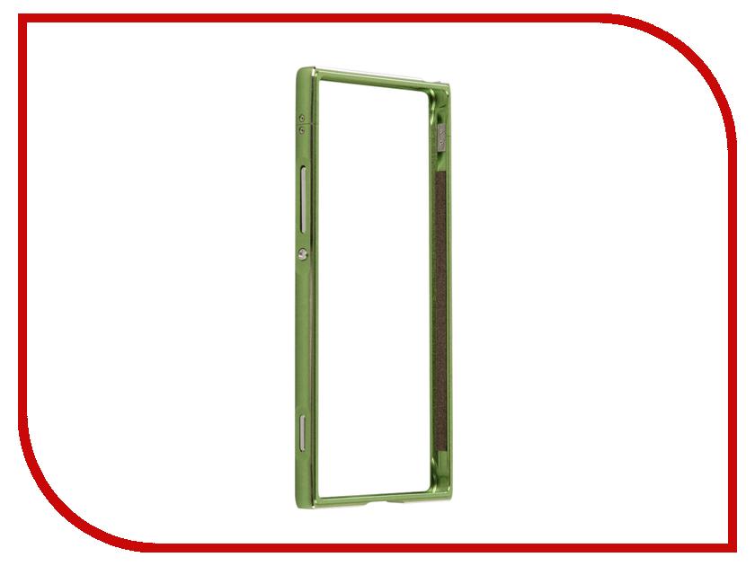 Аксессуар Чехол Sony Xperia XA1 BROSCO Green XA1-BMP-GREEN аксессуар чехол sony xperia xa1 brosco gold xa1 bmp gold