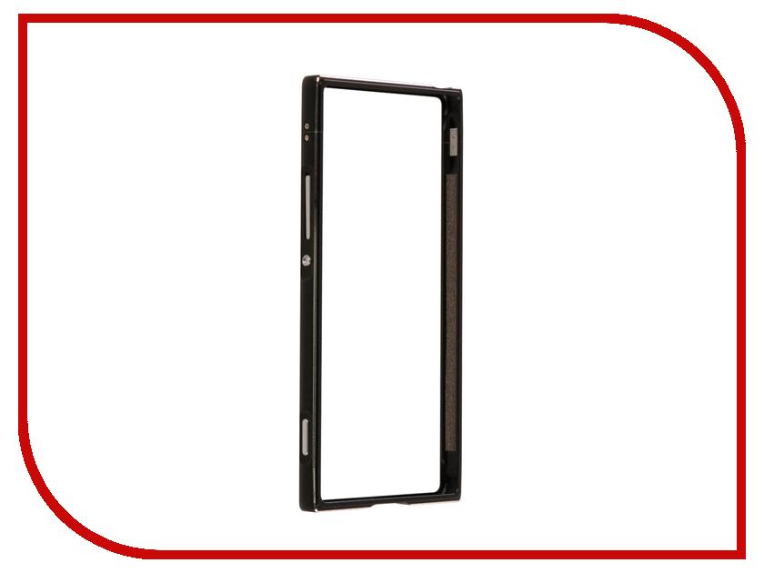Аксессуар Чехол Sony Xperia XA1 BROSCO Black XA1-BMP-BLACK ip6 tpu bmp black