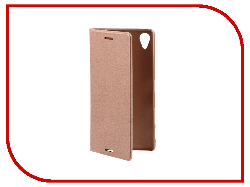 Аксессуар Чехол Sony Xperia X BROSCO PU Rose Gold X-BOOK-ROSEGOLD sony xperia x rose gold