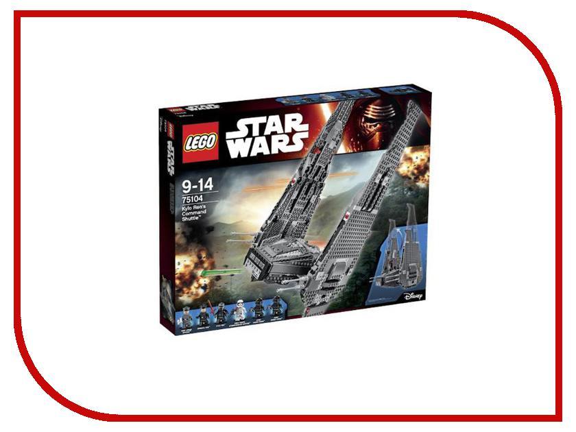 Конструктор Lego Star Wars Командный шаттл Кайло Рена 75104 lego 60139 город мобильный командный центр