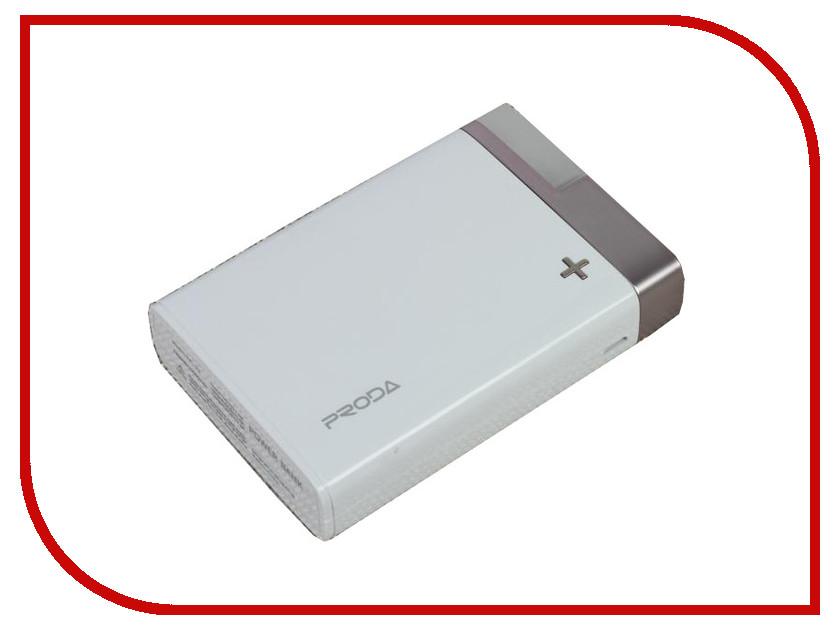 все цены на  Аккумулятор Remax Power Bank Proda PPL-20 Crave 12000mAh White-Silver 71880  онлайн