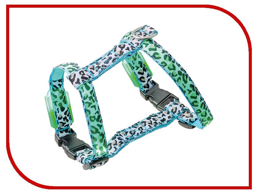 Шлейка V.I.Pet Леопард 18-28/27-33cm 14-3105S