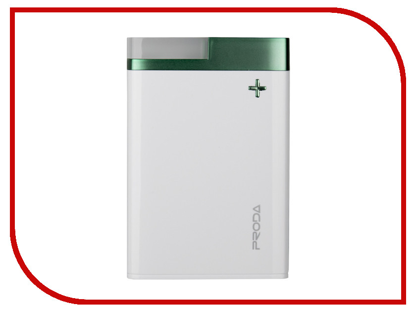Аккумулятор Remax Power Bank Proda PPL-20 Crave 12000mAh White-Green 71878 tuffstuff ppl 930