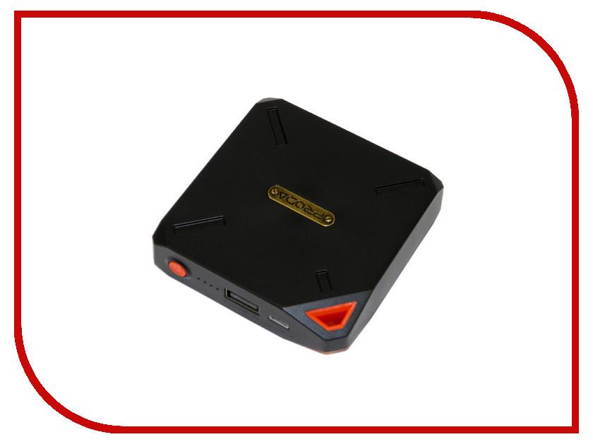 Аккумулятор Remax Power Bank Proda PPP-6 Yogurt 10000mAh Black-Red 66618 аккумулятор remax power bank proda power box 20000mah black