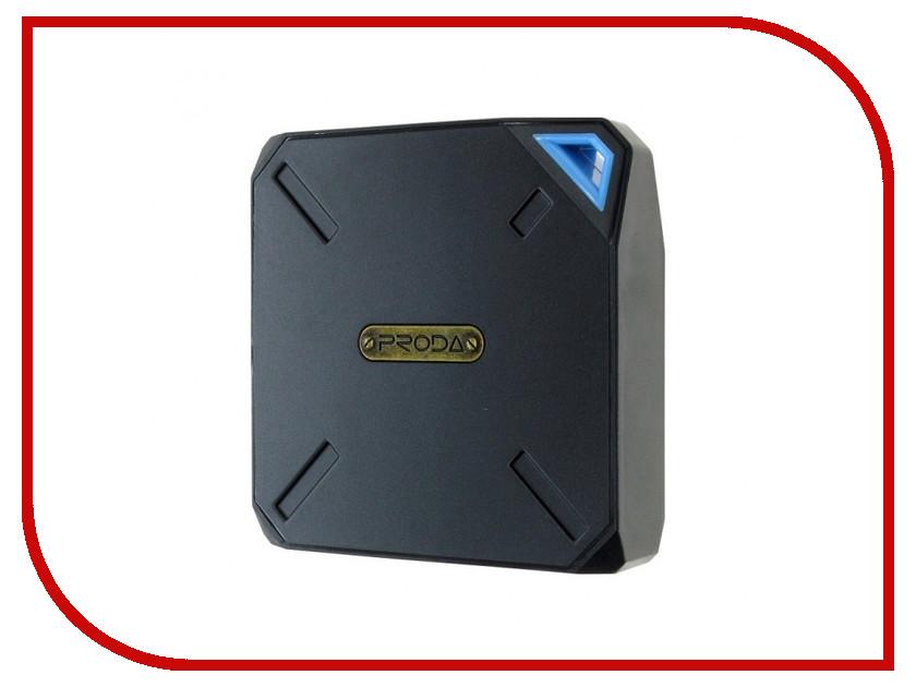 Аккумулятор Remax Power Bank Proda PPP-6 Yogurt 10000mAh Black-Blue 66617 аккумулятор remax power bank proda power box 20000mah black