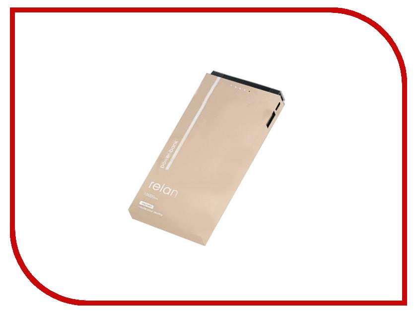 Аккумулятор Remax RPP-65 Relan Power Bank 10000mAh Gold 71921 аккумулятор remax vanguard 10000mah gold