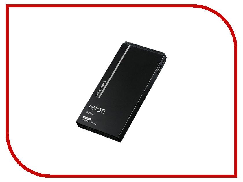 Аккумулятор Remax Power Bank RPP-65 Relan 10000mAh Black 71920 аккумулятор rock odin power bank 10000mah rmp0362 black