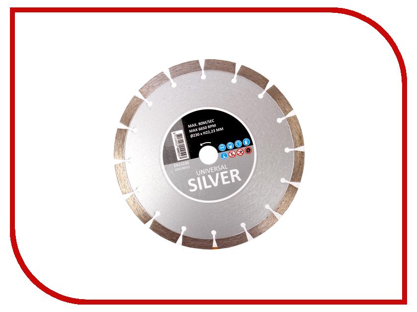 Диск Hitachi Silver CESI230312 алмазный отрезной, универсальный 230x22.2mm