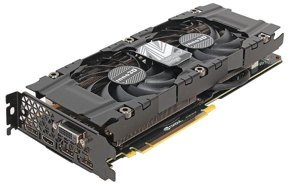 Видеокарта Inno3D GeForce GTX 1080 Twin X2 1607Mhz PCI-E 3.0 8192Mb 10000Mhz 256 bit DVI HDMI HDCP N1080-1SDN-P6DN цена и фото