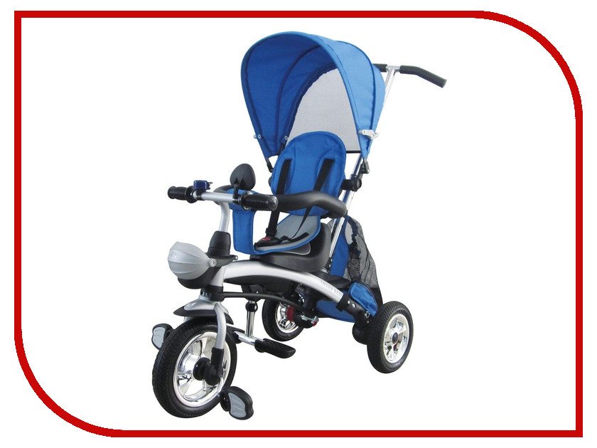 Коляска-велосипед Sweet Baby Mega Lexus Trike Blue коляски прогулочные sweet baby прогулочная коляска sweet baby combina tutto сetriolo