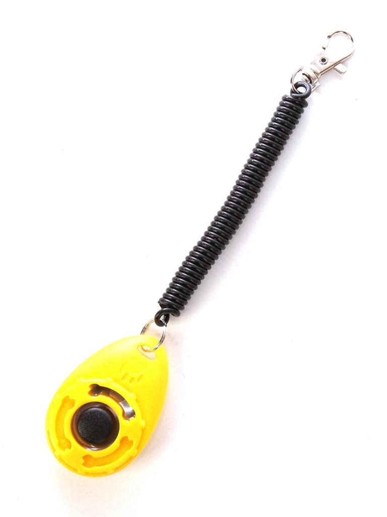 Кликер на браслете с карабином V.I.Pet 01019