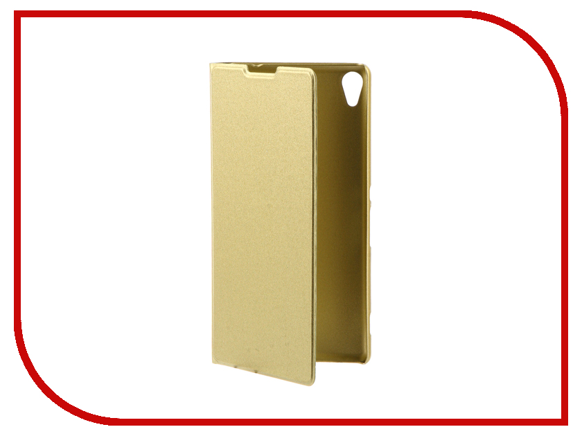 Аксессуар Чехол Sony Xperia XA Ultra BROSCO Gold Lime XAU-BOOK-GOLDLIME аксессуар чехол htc u ultra brosco black htc uu book black