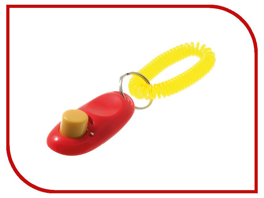 Кликер с кнопкой и браслетом V.I.Pet 01008