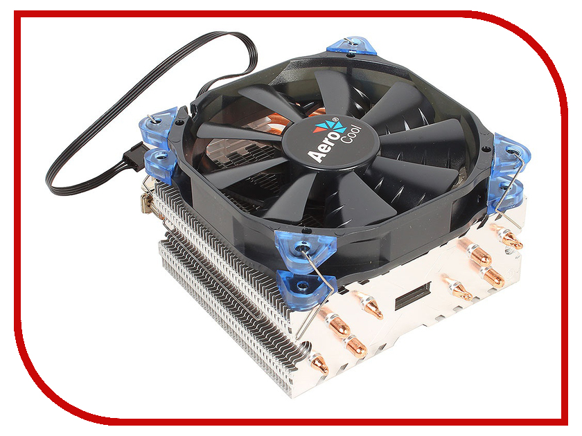Кулер AeroCool Verkho 4 (Intel LGA 2011/1156/1155/1150/1366/775 / FM1/FM2/AM2/AM2+/AM3/AM3+)
