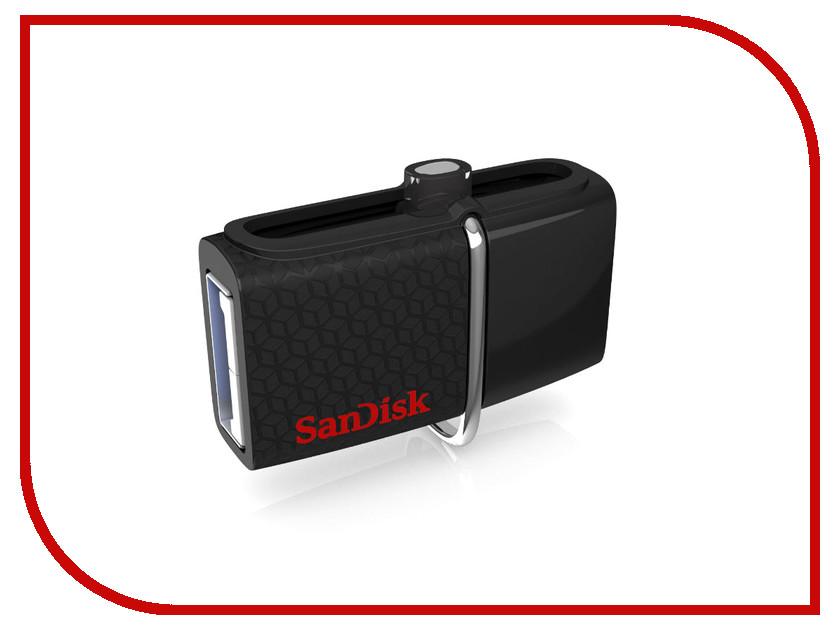 USB Flash Drive 256Gb - SanDisk Ultra Dual SDDD2-256G-GAM46 sddd2 032g gam46
