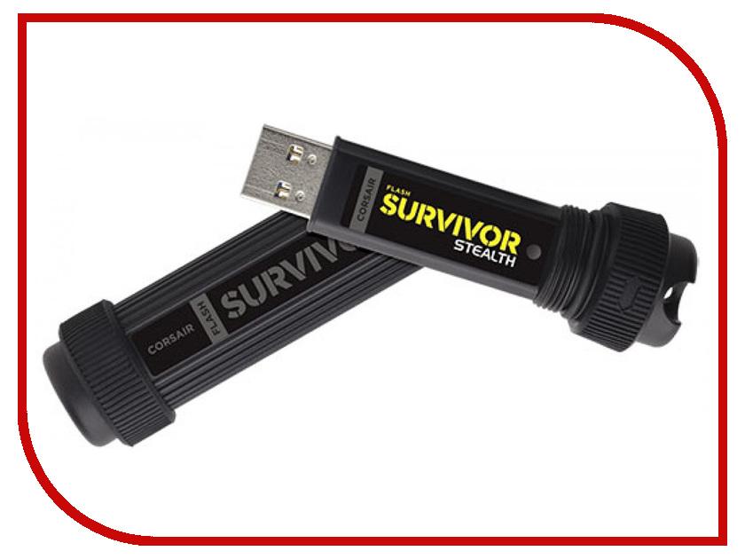 Zakazat.ru: USB Flash Drive 64Gb - Corsair Flash Survivor Stealth USB 3.0 CMFSS3B-64GB