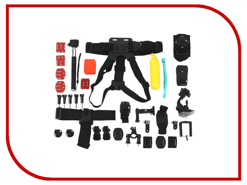 Аксессуар Набор EKEN A44 для камер Eken GoPro Xiomi аккумуляторы для камер smarterra аккумулятор для камер