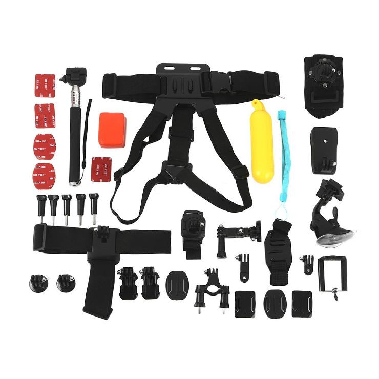 Аксессуар Набор EKEN A44 для камер Eken GoPro Xiaomi набор плоских и изогнутых клеющихся платформ aacft 001 для камер gopro