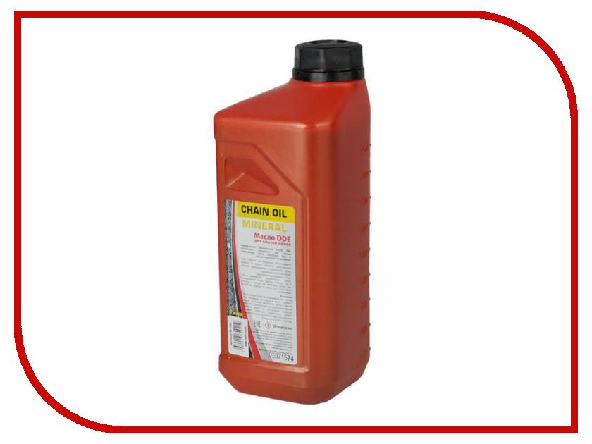 Масло DDE 1L M-CHO для смазки цепей масло dde ss 2t