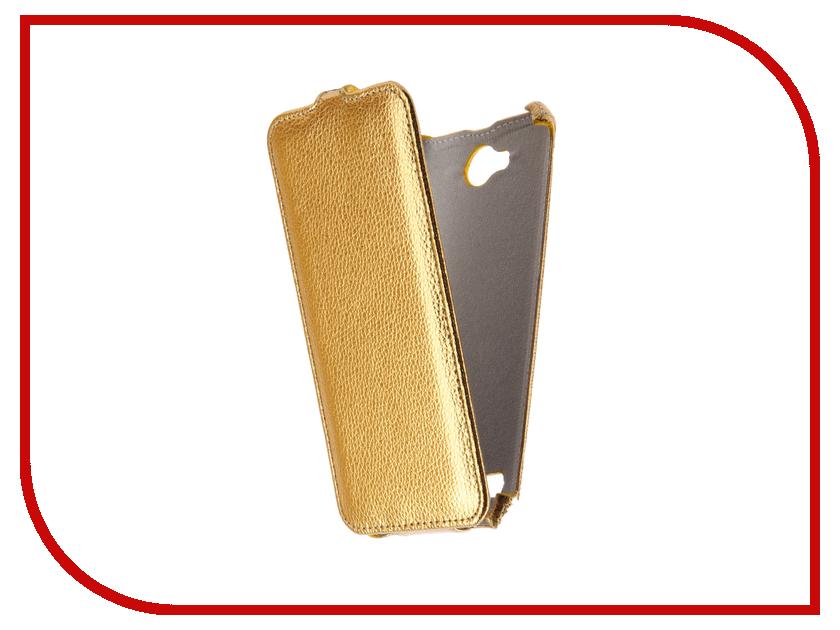 Аксессуар Чехол LG X Power 2 M320 Zibelino Classico Gold ZCL-LG-M320-GLD